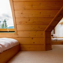 Отель InspiroApart Giewont Lux - Sauna i Basen Косцелиско комната для гостей фото 5