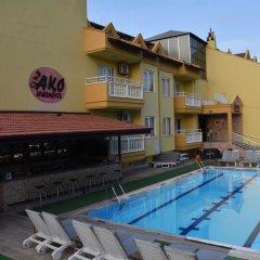 Club Ako Apart Турция, Мармарис - 1 отзыв об отеле, цены и фото номеров - забронировать отель Club Ako Apart онлайн бассейн фото 3