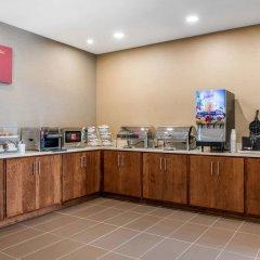 Отель Comfort Suites Columbus Airport США, Колумбус - отзывы, цены и фото номеров - забронировать отель Comfort Suites Columbus Airport онлайн питание