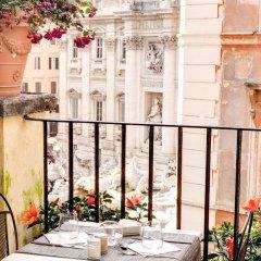 Отель Relais Fontana di Trevi балкон