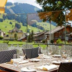 Отель Gstaaderhof Swiss Quality Hotel Швейцария, Гштад - отзывы, цены и фото номеров - забронировать отель Gstaaderhof Swiss Quality Hotel онлайн питание фото 3