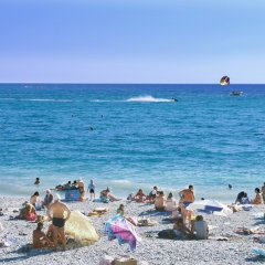 Гостиница ЛеЛюкс пляж фото 2