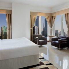 Отель Four Points by Sheraton Sheikh Zayed Road, Dubai Дубай комната для гостей