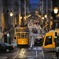 Отель Vincci Baixa городской автобус