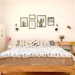 Апартаменты Linhai Dujia Apartment комната для гостей