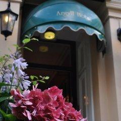 Argyll Hotel Глазго интерьер отеля