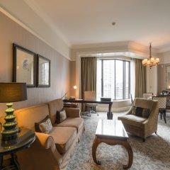 Four Seasons Hotel Singapore 5* Представительский люкс с различными типами кроватей фото 5