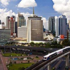 Отель Dusit Thani Bangkok Бангкок вид на фасад