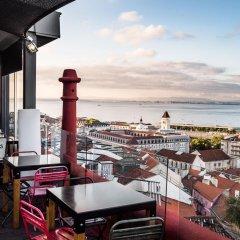 Отель Monte Belvedere Hotel by Shiadu Португалия, Лиссабон - отзывы, цены и фото номеров - забронировать отель Monte Belvedere Hotel by Shiadu онлайн балкон