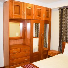 Апартаменты Al-Minhaj Service Apartments удобства в номере