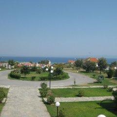 Отель Hilltop Hotel Греция, Ханиотис - отзывы, цены и фото номеров - забронировать отель Hilltop Hotel онлайн пляж фото 2