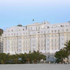 Отель Belmond Copacabana Palace пляж фото 2