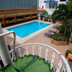 Hotel Grand Pacific балкон