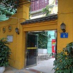 Отель Guangzhou Lanyuege Apartment Beijing Road Китай, Гуанчжоу - отзывы, цены и фото номеров - забронировать отель Guangzhou Lanyuege Apartment Beijing Road онлайн вид на фасад