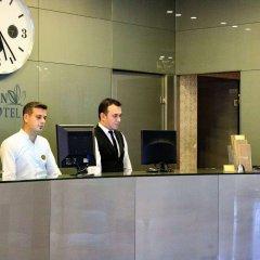 Burcman Hotel Турция, Бурса - 1 отзыв об отеле, цены и фото номеров - забронировать отель Burcman Hotel онлайн интерьер отеля фото 2