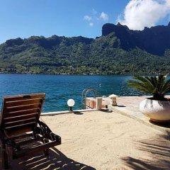 Отель Villa Oramarama - Moorea Французская Полинезия, Папеэте - отзывы, цены и фото номеров - забронировать отель Villa Oramarama - Moorea онлайн приотельная территория фото 2