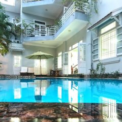 Отель The Moon Villa Hoi An бассейн фото 3