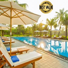 Отель Hoi An Waterway Resort Вьетнам, Хойан - отзывы, цены и фото номеров - забронировать отель Hoi An Waterway Resort онлайн бассейн фото 2