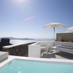 Отель Grace Santorini Греция, Остров Санторини - отзывы, цены и фото номеров - забронировать отель Grace Santorini онлайн бассейн фото 3