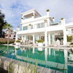 Отель Villa 7th Heaven Beach Front На Чом Тхиан бассейн фото 2