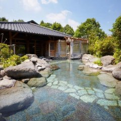 Отель Yufuin Ryokan Baien Хидзи бассейн фото 2