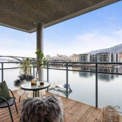 Апартаменты Damsgård Apartments балкон