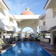 Отель & Suites Las Palmas Мексика, Сан-Хосе-дель-Кабо - отзывы, цены и фото номеров - забронировать отель & Suites Las Palmas онлайн бассейн