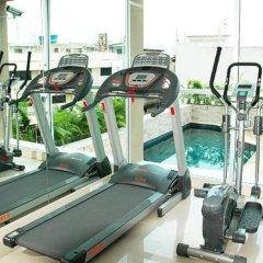Апартаменты Bangkok Living Apartment Бангкок фитнесс-зал фото 3