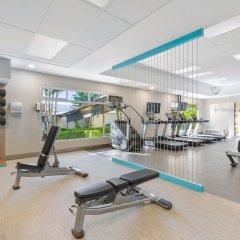 Отель Crowne Plaza San Jose Corobici фитнесс-зал фото 2