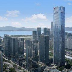 Отель Shenzhen Marriott Hotel Nanshan Китай, Шэньчжэнь - отзывы, цены и фото номеров - забронировать отель Shenzhen Marriott Hotel Nanshan онлайн балкон