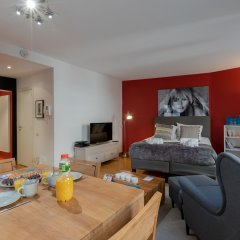 Апартаменты Sweet Inn Apartments Sablons Брюссель комната для гостей фото 5