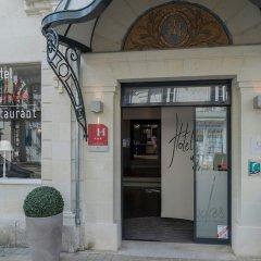 Qualys Le Londres Hotel Et Appartments Сомюр вид на фасад