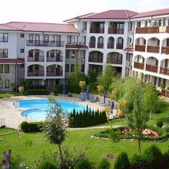 Отель DELFIN Apart Complex Болгария, Свети Влас - отзывы, цены и фото номеров - забронировать отель DELFIN Apart Complex онлайн балкон