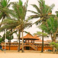 Отель Golden Star Beach Hotel Шри-Ланка, Негомбо - отзывы, цены и фото номеров - забронировать отель Golden Star Beach Hotel онлайн пляж