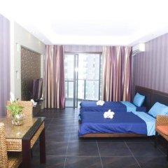 Апартаменты Sanya Haimengqingyuan Holiday Apartment комната для гостей фото 2