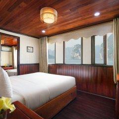Отель Garden Bay Legend Cruise Вьетнам, Халонг - отзывы, цены и фото номеров - забронировать отель Garden Bay Legend Cruise онлайн комната для гостей фото 4