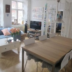 Апартаменты 2 bedroom apartment Gothersgade 134-1 Копенгаген комната для гостей