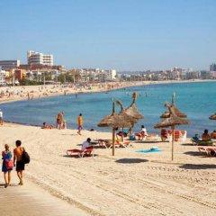 D-H Hotel Calma пляж