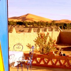 Отель Гостевой дом La Vallée des Dunes Марокко, Мерзуга - отзывы, цены и фото номеров - забронировать отель Гостевой дом La Vallée des Dunes онлайн бассейн фото 2