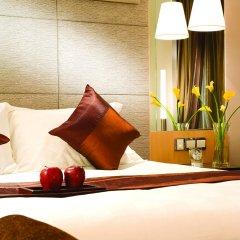 Отель Pan Pacific Xiamen сейф в номере