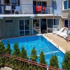 Отель Elvira Hotel Болгария, Равда - отзывы, цены и фото номеров - забронировать отель Elvira Hotel онлайн бассейн фото 2