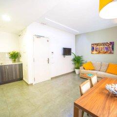 Отель Ona Living Barcelona Испания, Оспиталет-де-Льобрегат - 1 отзыв об отеле, цены и фото номеров - забронировать отель Ona Living Barcelona онлайн комната для гостей фото 5