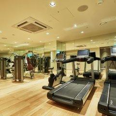 Отель Crown Park Hotel Южная Корея, Сеул - отзывы, цены и фото номеров - забронировать отель Crown Park Hotel онлайн фитнесс-зал
