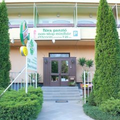 Отель Flóra Panzió Венгрия, Силвашварад - отзывы, цены и фото номеров - забронировать отель Flóra Panzió онлайн вид на фасад