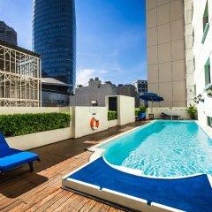 Отель Saigon Prince Hotel Вьетнам, Хошимин - 1 отзыв об отеле, цены и фото номеров - забронировать отель Saigon Prince Hotel онлайн бассейн
