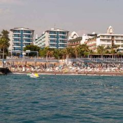 Concordia Celes Hotel - Ultra All Inclusive Турция, Окурджалар - отзывы, цены и фото номеров - забронировать отель Concordia Celes Hotel - Ultra All Inclusive онлайн пляж фото 2