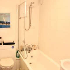 Отель Stylish 1 Bedroom Flat in the Heart of Hove ванная