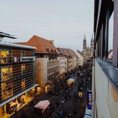 Отель HUXX City Германия, Нюрнберг - отзывы, цены и фото номеров - забронировать отель HUXX City онлайн балкон