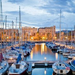 Отель H10 Port Vell Барселона приотельная территория фото 2