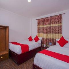 Отель OYO 276 White Orchid Resort Непал, Катманду - отзывы, цены и фото номеров - забронировать отель OYO 276 White Orchid Resort онлайн комната для гостей фото 4